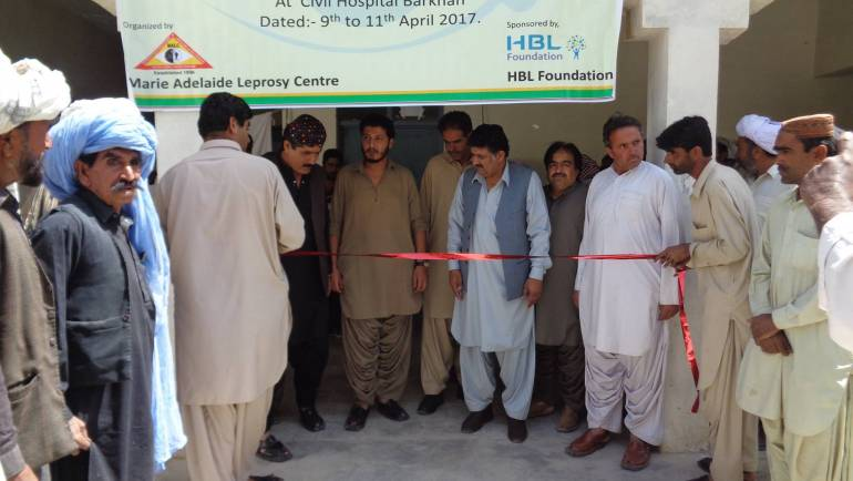 MALC holds two surgical eye camps at Barkhan and Zhob- Balochistan courtesy Habib Bank ltd.