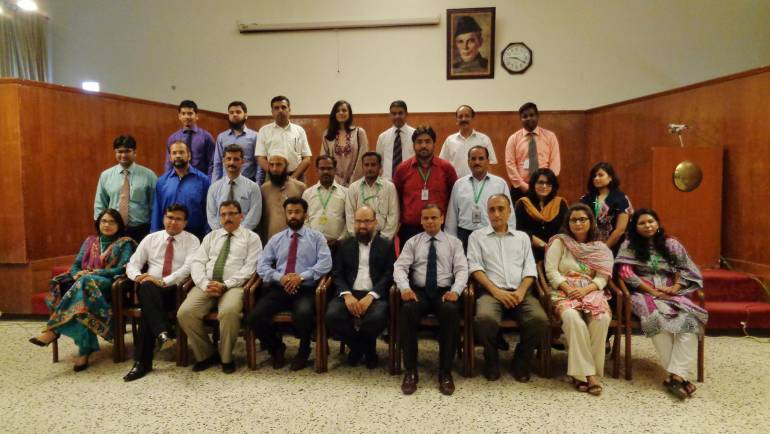 MALC organized a two day training at PIMS on Enhancing Leadership Skills for its management staff in collaboration with CBM.