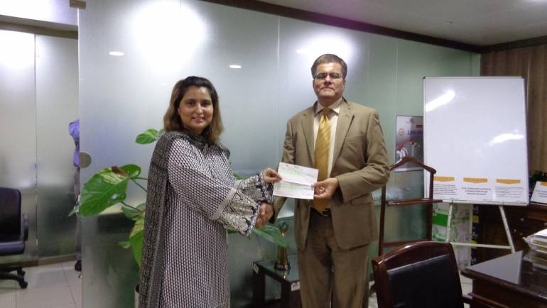 NBP continues support for female ward at MALC hospital and Kohistan centre.