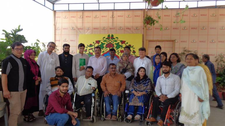 Awareness session on 'RIGHTS OF PERSONS WITH DISABILITIES AND INDEPENDENT LIVING CONCEPT' organized by MALC's Training Department.