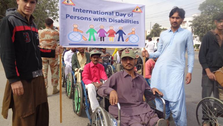 MALC Junior Leprosy Technicians (JLTs) 2017-2018 batch participated in an Awareness Walk.