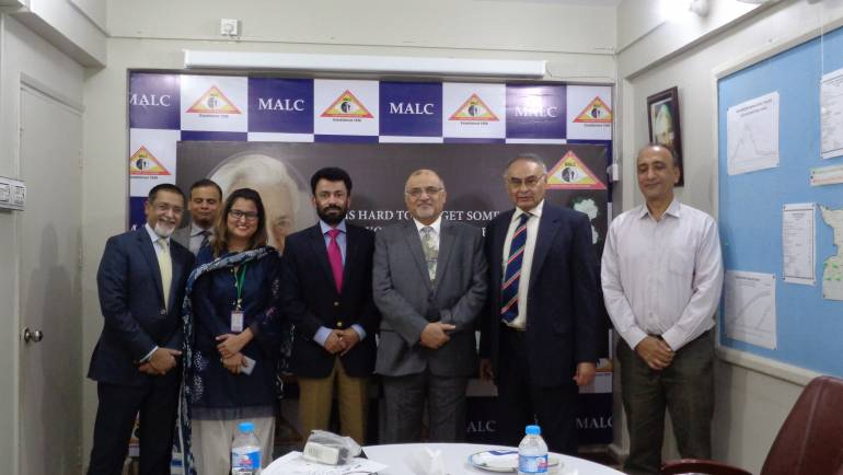 Mr. Wamiq Bokhari-MD& CEO PPL visits MALC.