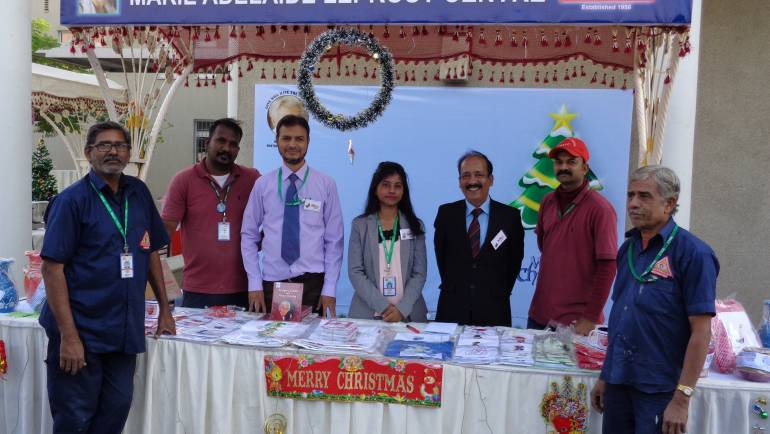 MALC participates in a Chriskindlmarket (Christmas Bazaar) at the German Consulate, Karachi.