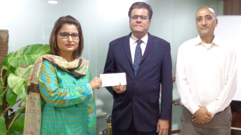 National Bank of Pakistan continues its support for Female ward at MALC Saddar Hospital.