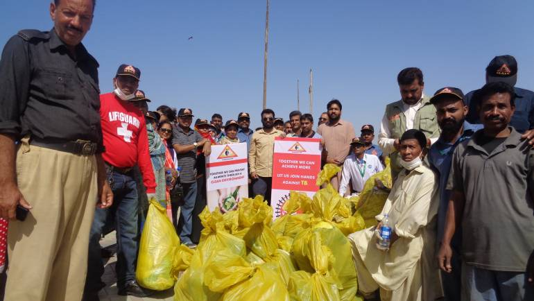 World Tuberculosis Day Cleanliness Drive