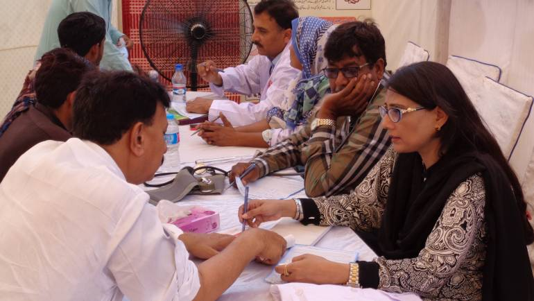 K-Electric Medical Camp in Gharo-Sindh