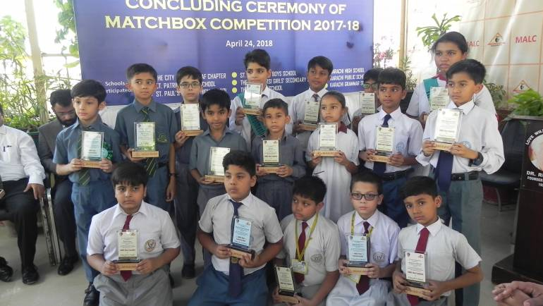 Matchbox Competition Concluding Ceremony