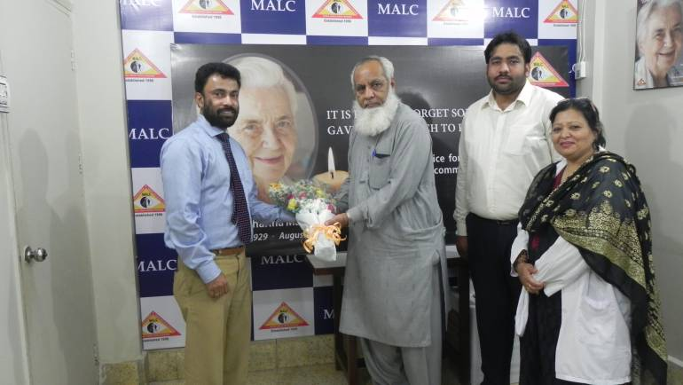 Director General Health – Sindh Visits MALC