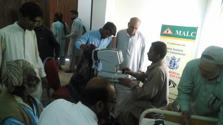 Eye Surgical Camp in Manjipur- Balochistan