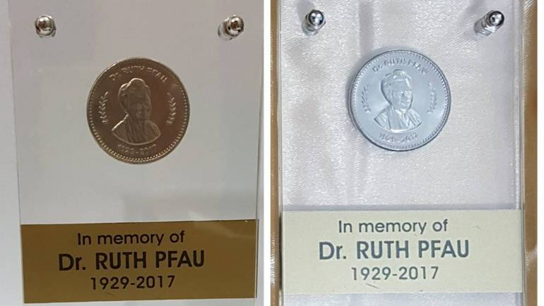 SBP launches commemorative coins in honour of Dr. Ruth Pfau