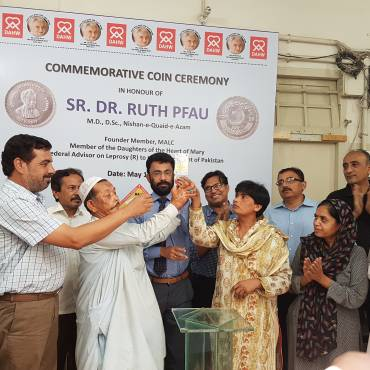 Commemorative Coin issued in honour of Dr. Ruth Pfau