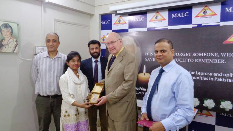 Acting Consul General – German Consulate General Karachi visits MALC