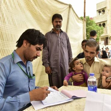 K-Electric Medical Camp in Orangi, Karachi