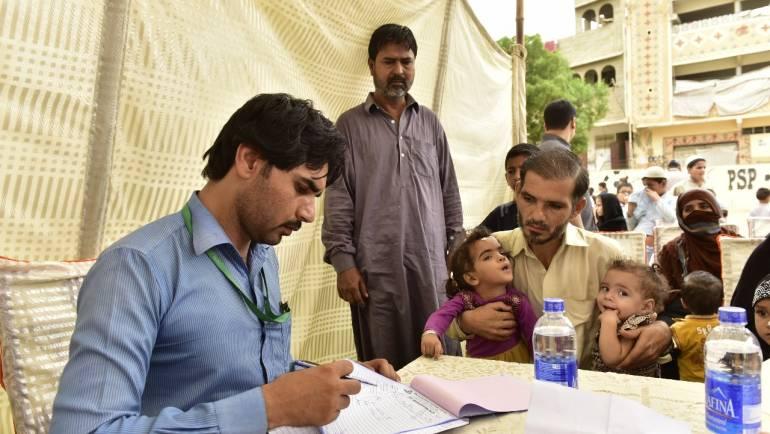 K-Electric Medical Camp in Orangi, Karachi