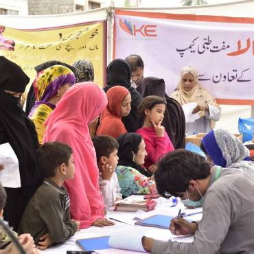 K-Electric Medical Camp in Garden, Karachi