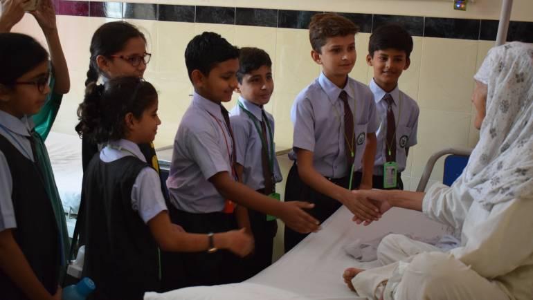 Karachi Public School visits MALC