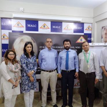 Team from i-Care Foundation visits MALC