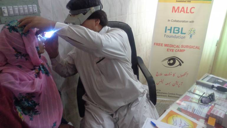 HBL Foundation Eye Surgical Camp in Nall, Khuzdar District – Balochistan