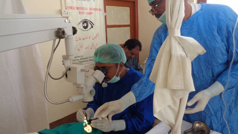 HBL Foundation Eye Surgical Camp in Surab, Shaheed Sikandarabad District – Balochistan