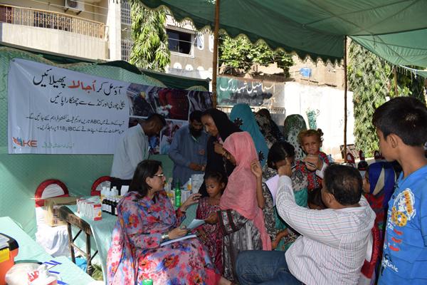 K-Electric General Health Camp in Lyari-Karachi