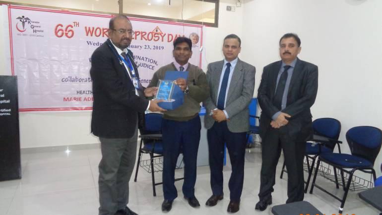 Leprosy Seminar at Kharadar General Hospital, Kharadar-Karachi