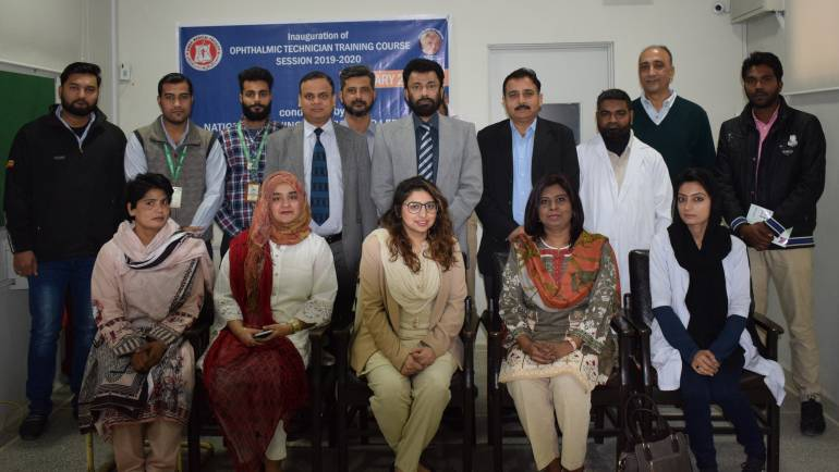 Opening Ceremony of Ophthalmic Technician Training Course