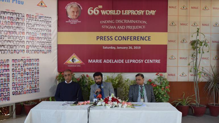 Press Conference to commemorate 66th World Leprosy Day