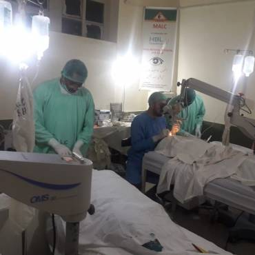 HBL Foundation Eye Surgical Camp in Lasbela District, Balochistan
