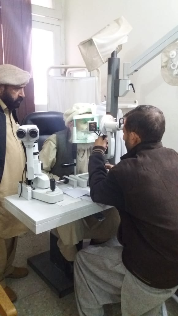 HBL Foundation Eye Surgical Camp in Kohistan District, Khyber Pakhtunkhwa