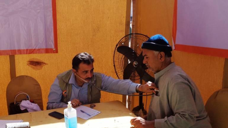 K-Electric Health Camp in Malir, Karachi