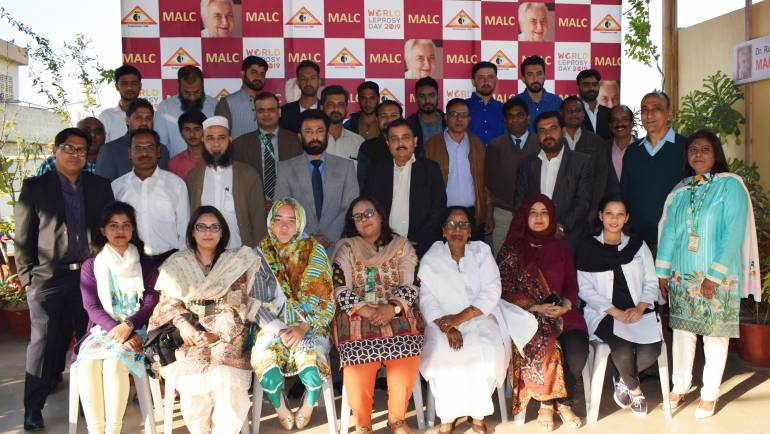 Opening Ceremony of Junior Leprosy Technician Training Course  (2019 – 2020)