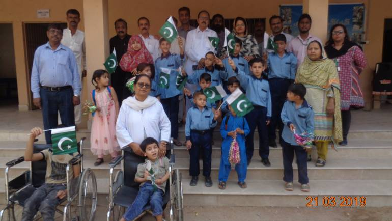 Eye Screening of Children With Disabilities at RCMHC, West Karachi, DEPD