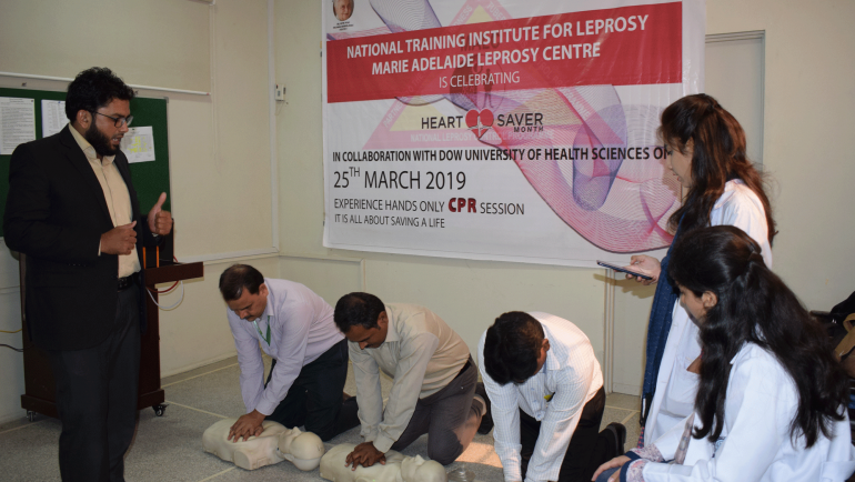 Cardio Pulmonary Resuscitation (CPR) Training by Dow University of Health Sciences