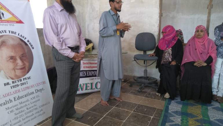 TB Awareness Session at Women Empowerment Centre at Somar Kindyani Goth, Malir – Karachi