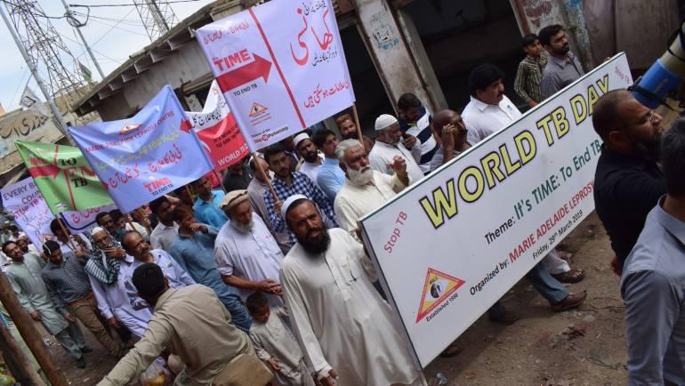 TB Awareness Walk at Machar Colony, Bihar – Karachi