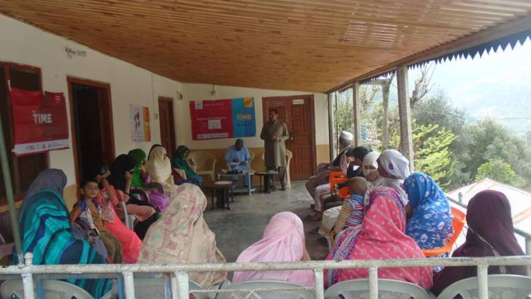TB awareness sessions/ seminar in selected districts of Azad Kashmir, Gilgit-Baltistan, and Khyber Pakhtunkhwa.