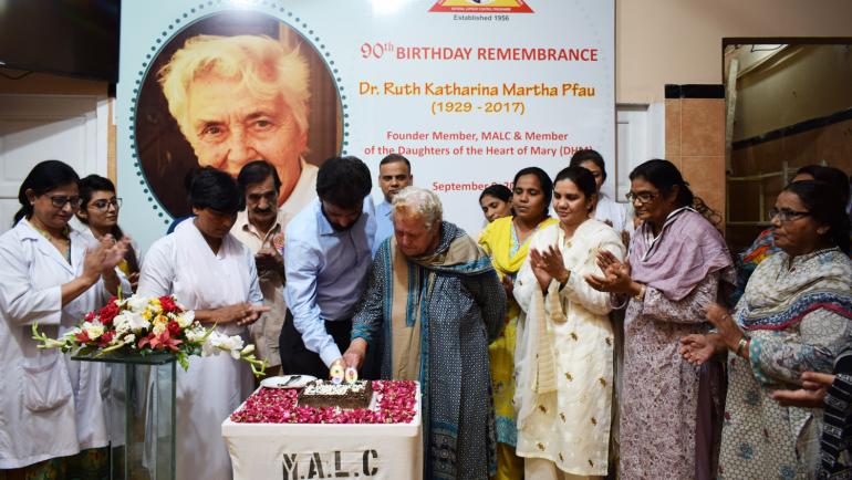 Dr. Ruth Pfau's 90th Birthday Remembrance