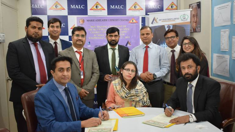 MoU Signing Ceremony between MALC, AWTIL & CFO Club – CXO GOLF TOURNAMENT IN MEMORY OF DR. RUTH PFAU