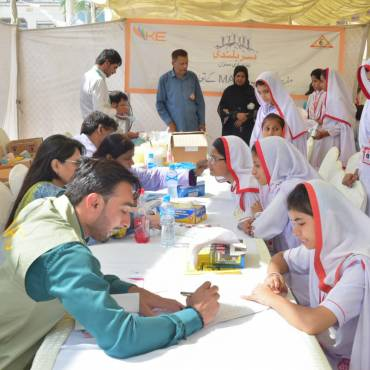K-Electric Health Camps in Karachi