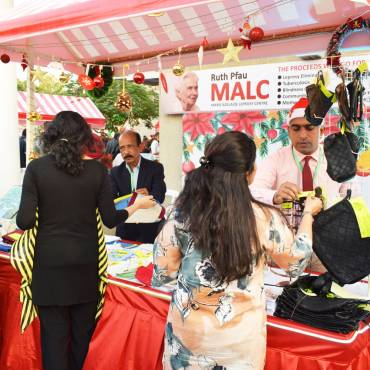 MALC participates in Weihnachtsmarkt (Christmas Market) at the German Consulate General Karachi
