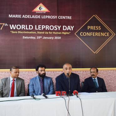Press Conference to commemorate 67th World Leprosy Day