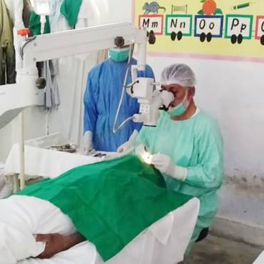 HBL Foundation Surgical Eye Camp in Drug Fazla, Balochistan