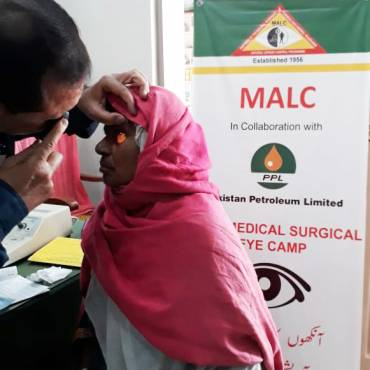 PPL Surgical Eye Camp  in Kandhkot