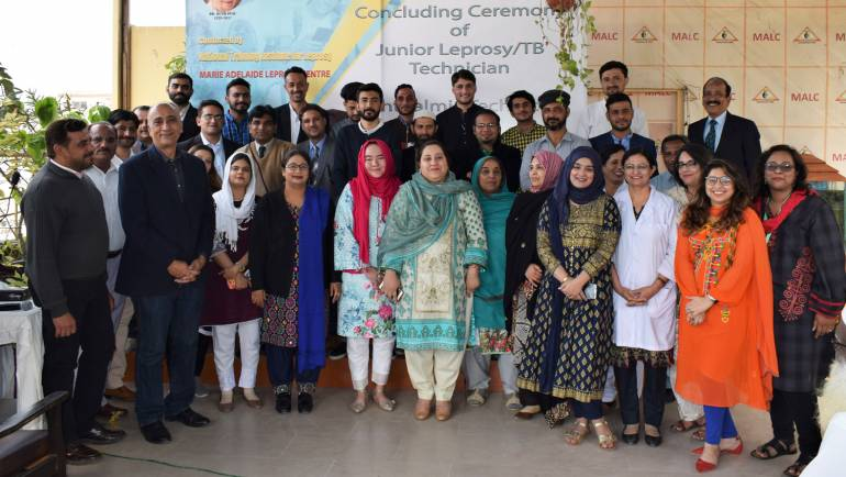 Concluding Ceremony of Ophthalmic Technician and Junior Leprosy/ TB Technician Training Courses 2019 – 2020