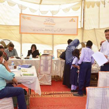 K-Electric Health Camps in Karachi