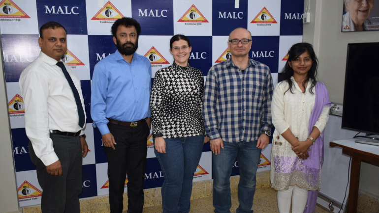 A team from Missio Austria visits MALC