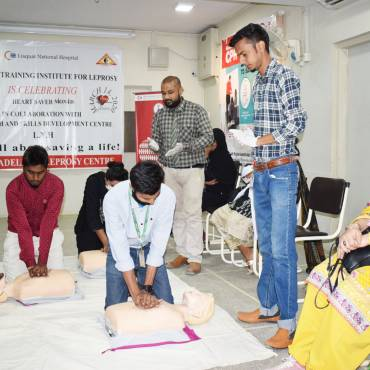 Heart Saver Month – Cardio-Pulmonary Resuscitation Training