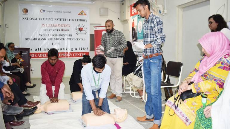 Heart Saver Month – Cardio-Pulmonary Resuscitation Training
