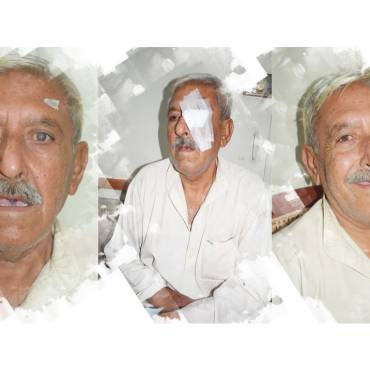 His sight which he was losing day by day was rescued – Hassam ud din's Story