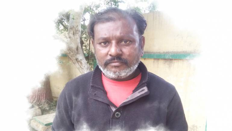 """""""I had A bath not only once, but several times in a sewerage drain to clear my skin lesions."""" – Younas Masih's story"""